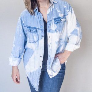 VINTAGE LEVI'S Shirts for Jeans Acid Wash Tie Dye
